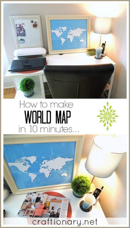 make world map easy tutorial