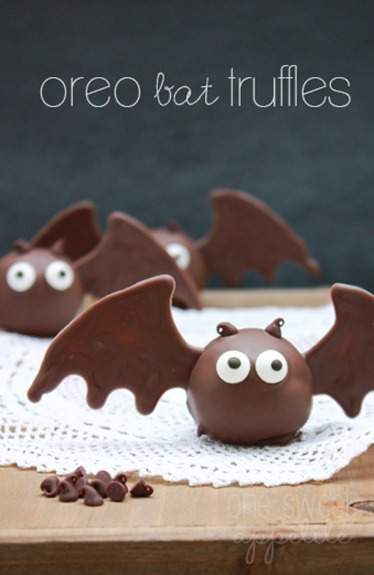 oreo bat truffles decorating ideas