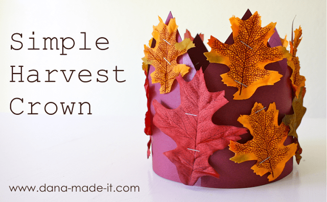 simple harvest crown
