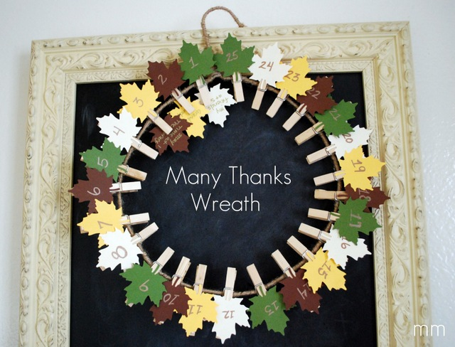 thankful wreath countdown