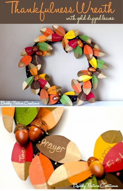 thankful wreath tutorial