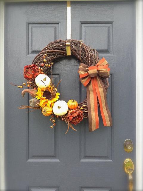 thanks giving wreath