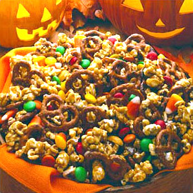 trick or treat caramel corn