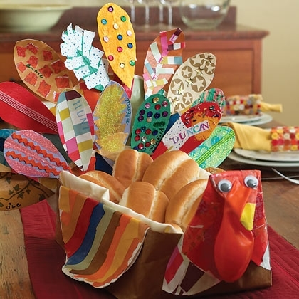 turkey thanksgiving kids crafts