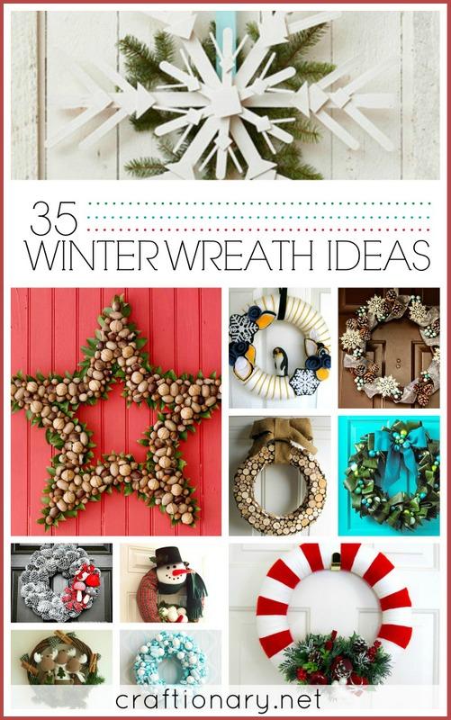 winter wreath ideas