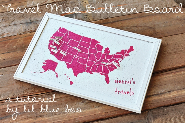 Craftionary easy travel map bulletin board gumiabroncs Images