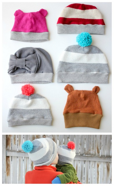 DIY winter hats