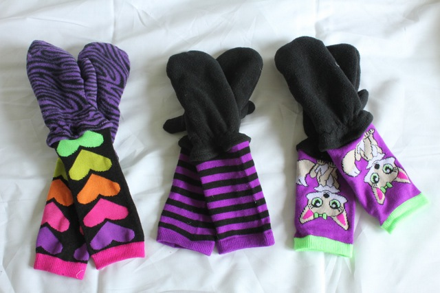 DIY kids gloves