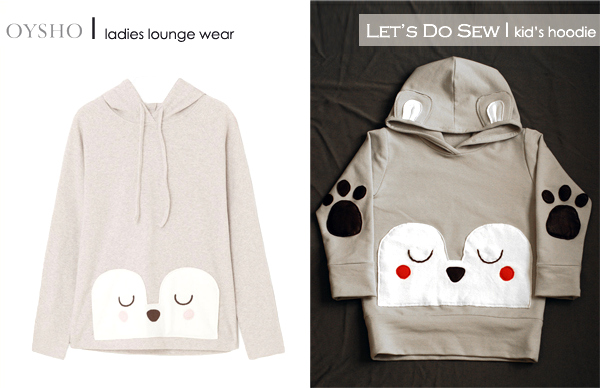 DIY kids hoody sewing