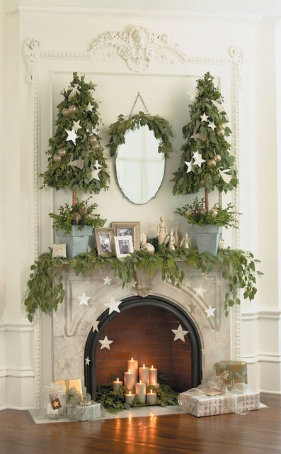 Best Christmas Mantel