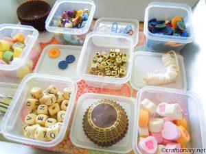 craft supplies organizer