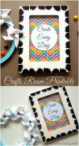 crafts room printable