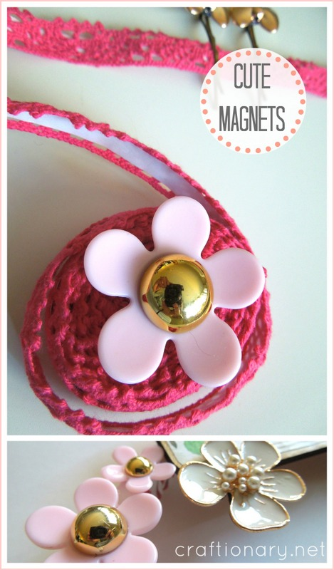 cute flower magnets