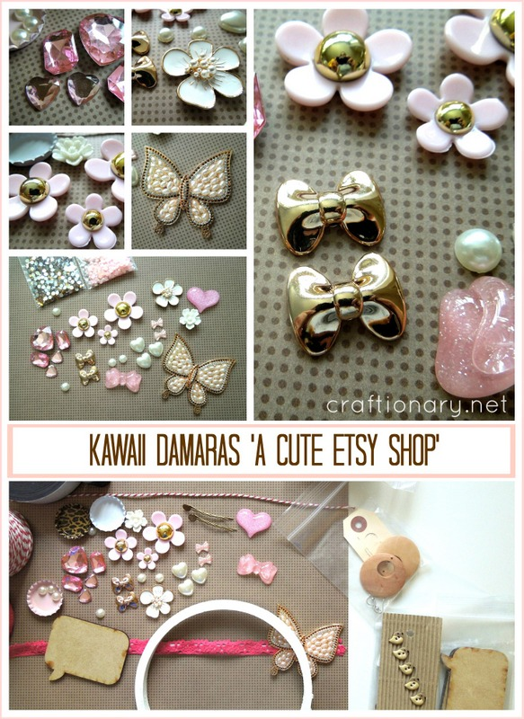 cute girly embellihsments
