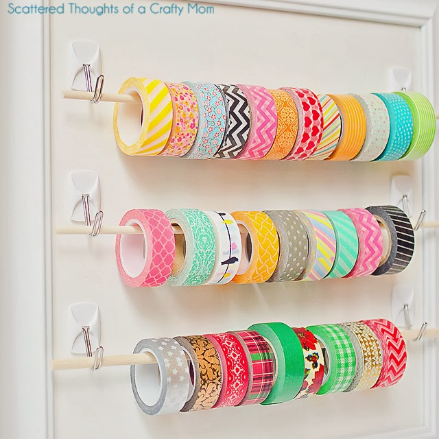 easy ribbon storage
