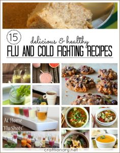 15 Flu/ Cold fighting recipes (Immunity boost)