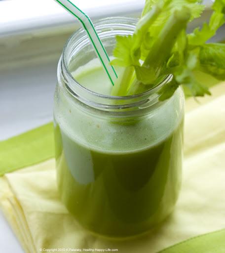 green ginger celery juice