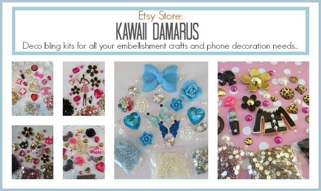 kawaii damaras embellishments
