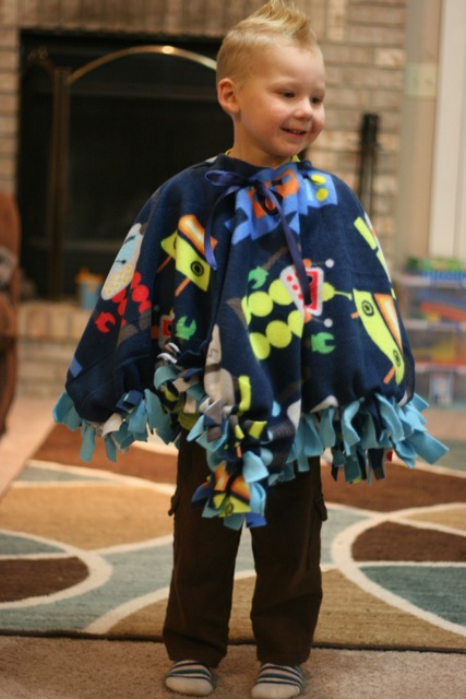 How To Make A Fleece Car Seat Poncho