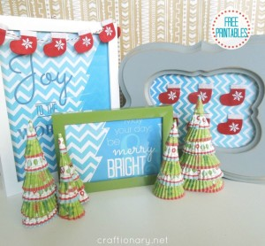 free Christmas printables for Holidays