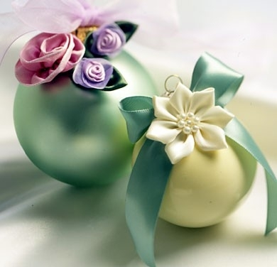 ribbon flowers ornaments