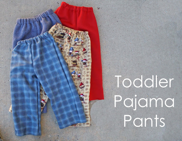 sewing pajama pants