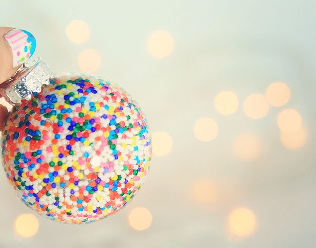 sprinkles ornaments