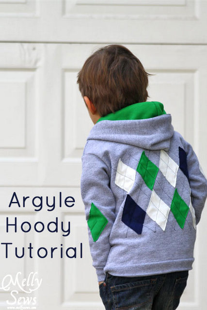 winter hoody tutorial