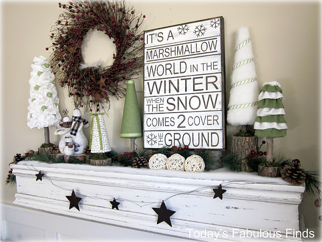 Best winter mantel