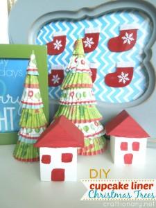 DIY cute Christmas trees