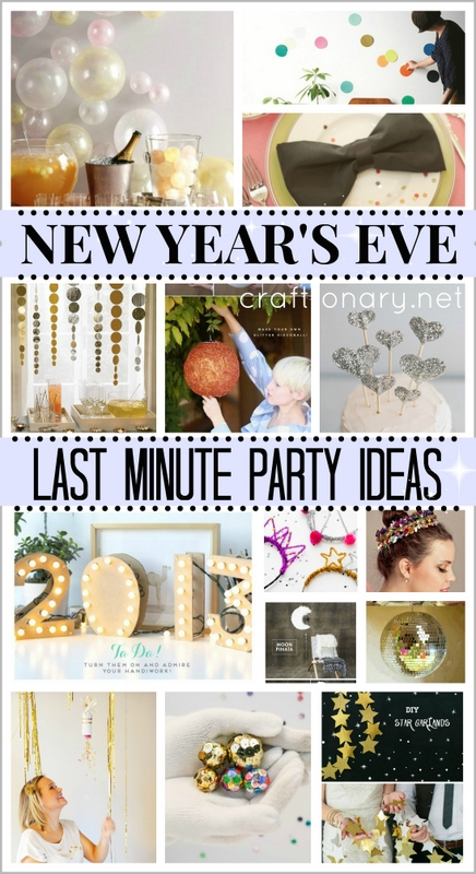 diy eve crafts nye craftionary projects last minute