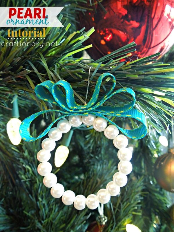 diy pearl ornaments christmas tutorial - The Christmas Pearl