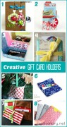 creative gift card holders