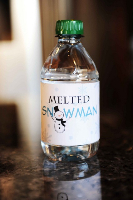 melted snowman