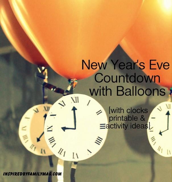 new years eve countdown fun
