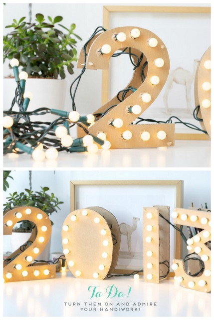 new years eve marquee numbers