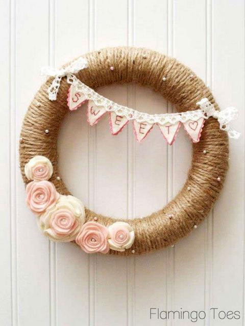 valentines day wreaths