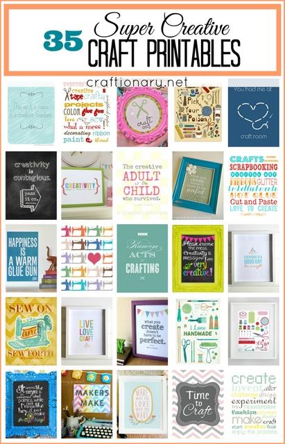 Invaluable image inside printable craft