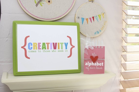 creativity free printable