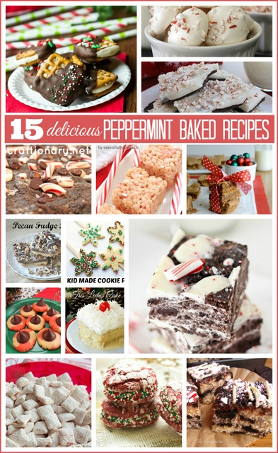 peppermint baked recipes