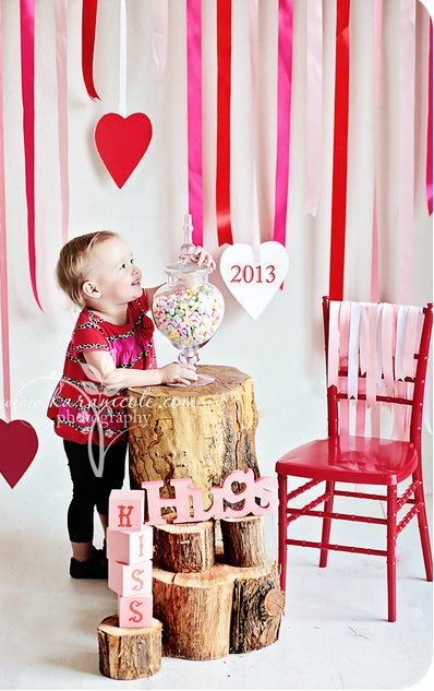 valentines day kids photo