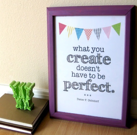 create perfect craft printable