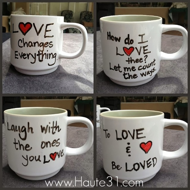 love mugs quotes