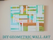 DIY geometric paintings art