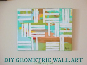 DIY geometric paintings art