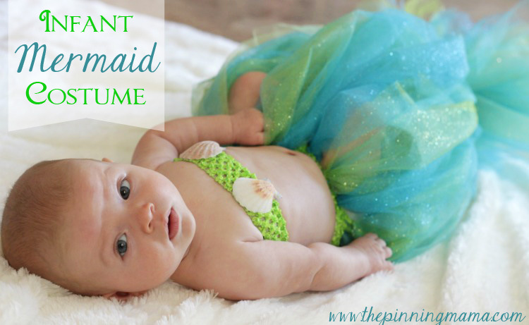 baby mermaid halloween costume