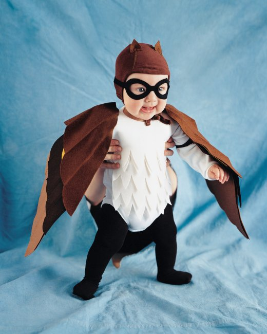 baby owl costume tutorial