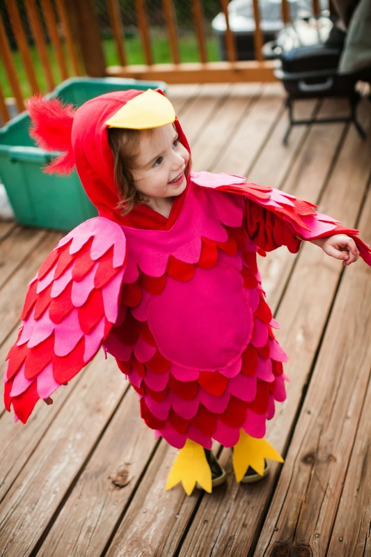 Baby Bird Costume  sc 1 st  Craftionary : homemade infant halloween costumes  - Germanpascual.Com