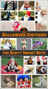 Baby Halloween Costumes ( DIY Boys Outfits)