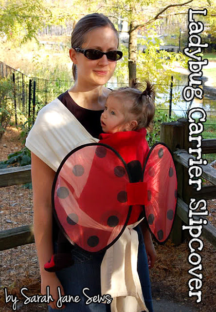 lady bug carrier costume